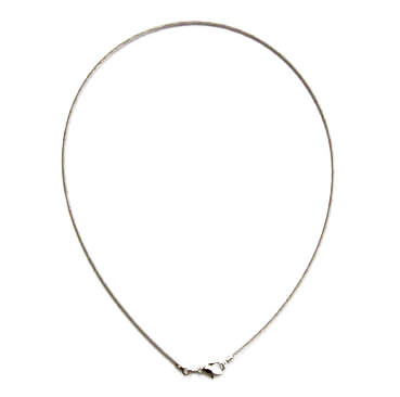 Necklace, Stainless Steel, 45 cm