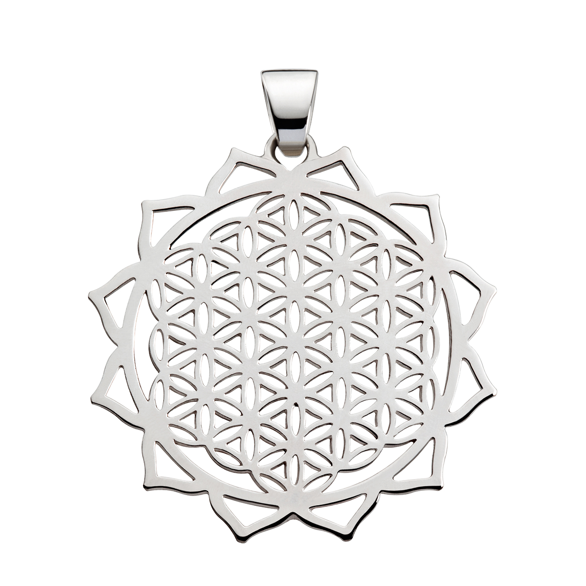 Flower of Life w/ Hearts